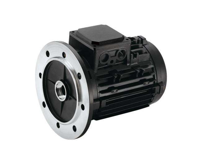 IEC铝合金压铸电机壳体B5